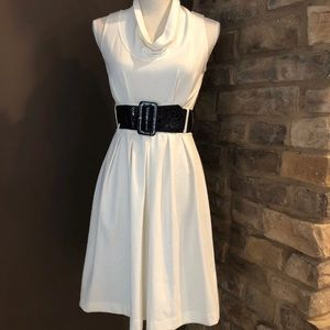 Maurices sleeveless light cowl neck dress size S